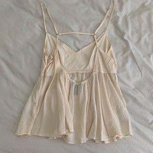 Forever 21 Tops - Cream flowy blouse
